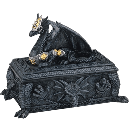 Black Dragon Trinket Box