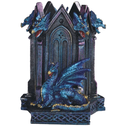 Blue Dragon Pen Holder