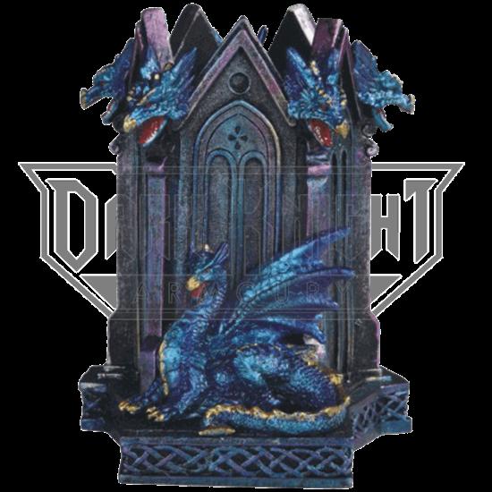 Blue Dragon Pen Holder