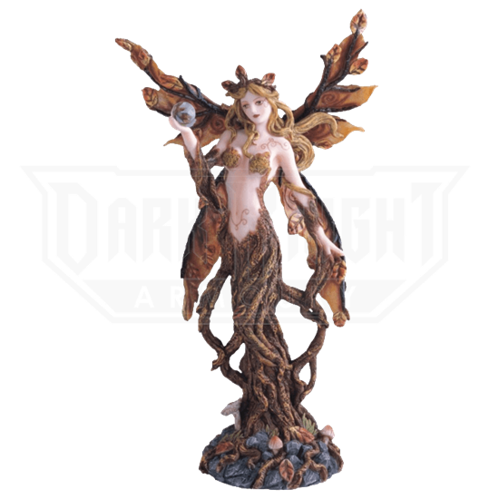 Autumn Dryad Fairy Statue