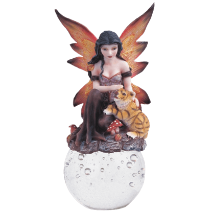 Autumn Fairy Crystal Ball