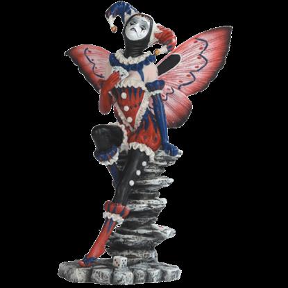Harlequin Fairy Statue