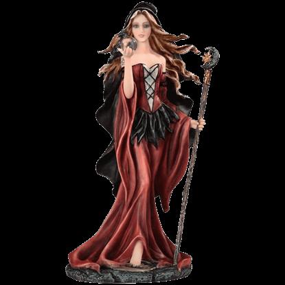 Dark Seeress Statue
