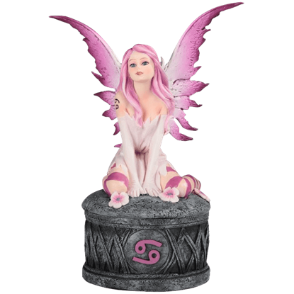 Cancer Fairy Trinket Box