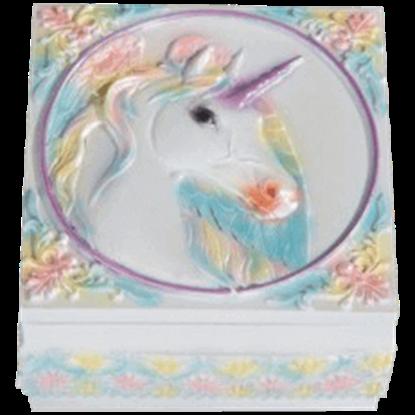 Pastel Unicorn Trinket Box