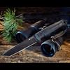 Aggressor Black Tactical Knife
