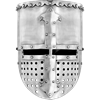 Flat Top Crusader Helm