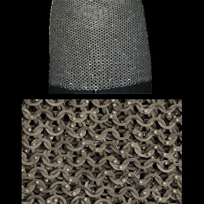 Titanium Chainmail Skirt