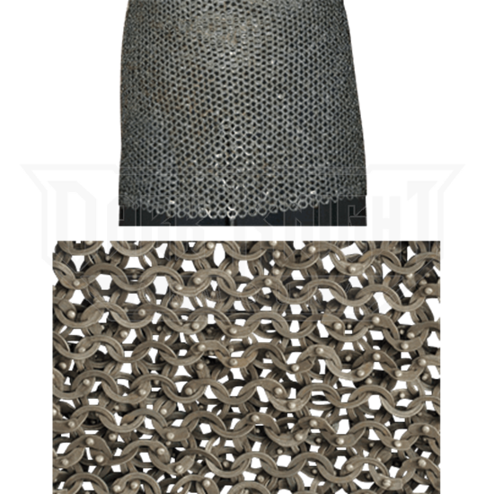 55361a2e3dd Titanium Chainmail Skirt - AB2436 from Leather Armor