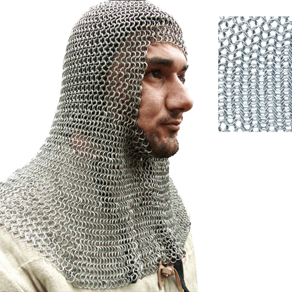 Butted Chainmail Coif