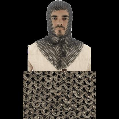 Titanium Chainmail Coif