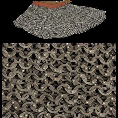 Titanium Chainmail Aventail