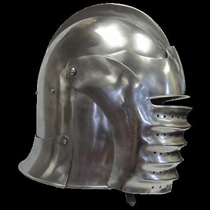 German Closed Bellows Helmet