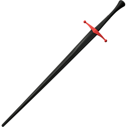Black and Red Sparring Bastard Sword