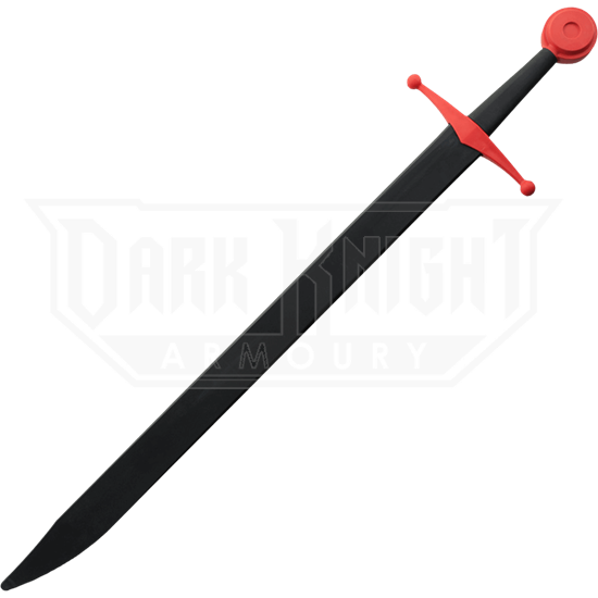 Black and Red Sparring Falchion
