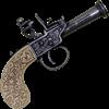 1798 Black English Flintlock Pistol