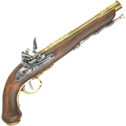 Brass Finished French Dueling Pistol