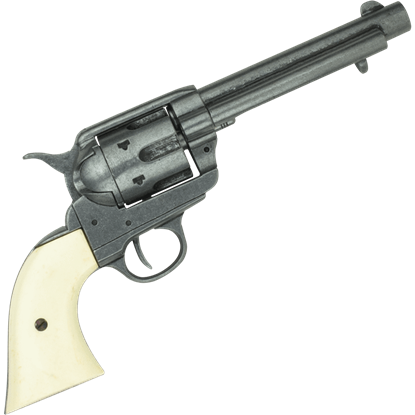 Old West Frontier Grey Finish Revolver