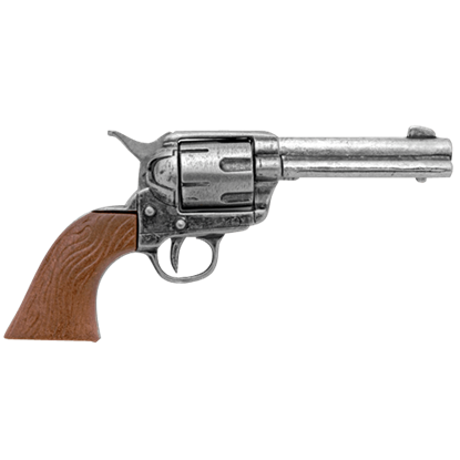 Grey Miniature M1873 Single Action Revolver
