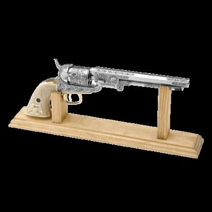 Wooden M1851 Navy Revolver Stand