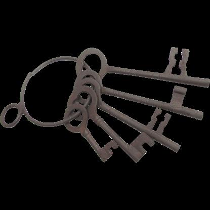 Antiqued Jailer Keys
