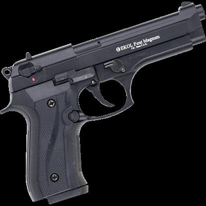 Black Firat Magnum 92 Blank Firing Pistol