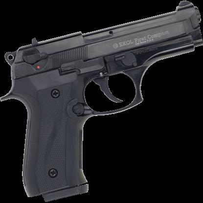 Black Firat Compact 92 Blank Firing Pistol
