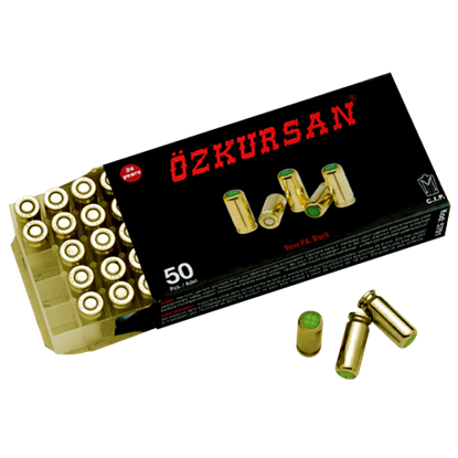 9mm PAK Blank Ammunition Pack