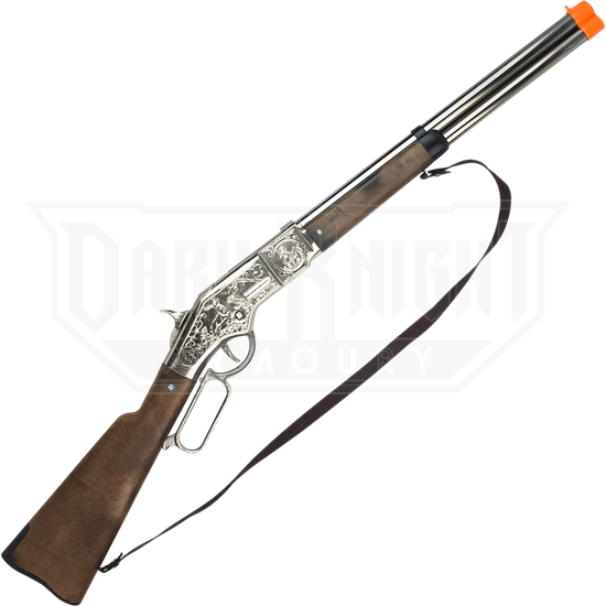 Cowboy Chrome 8 Shot Cap Rifle