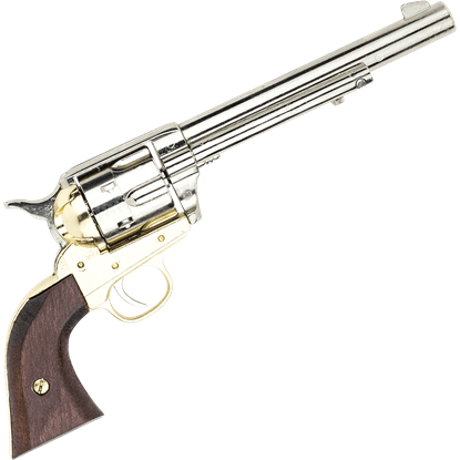 1873 Nickel SAA Cavalry Pistol