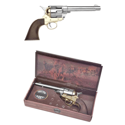 1873 Nickel Colt Army Revolver