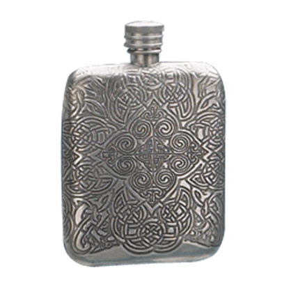 Corvellana Stamped Flask