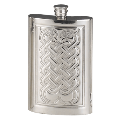 Celtic Knotwork Flask