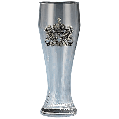 Dragon Crest Pilsner Glass
