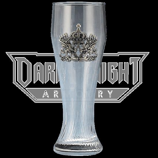 Dragon Crest Pilsner Glass