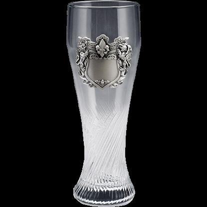 Lion Crest Pilsner Glass