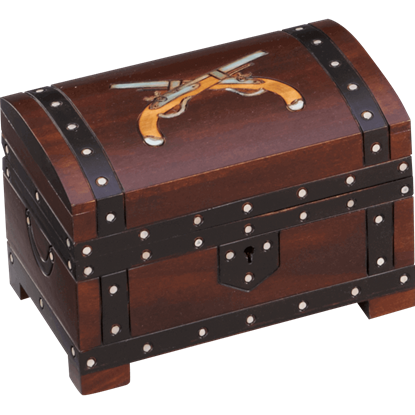 Double Pistol Chest Box
