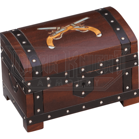 Double Pistol Chest Box