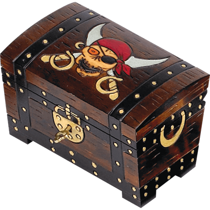 Large Pirate Treasure Box