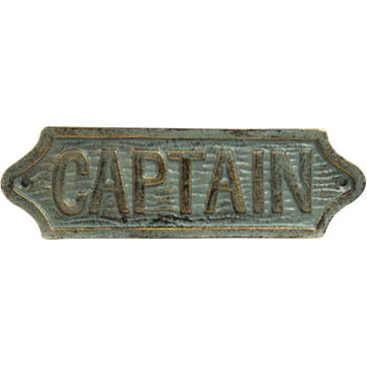 Sea Captains Plaque