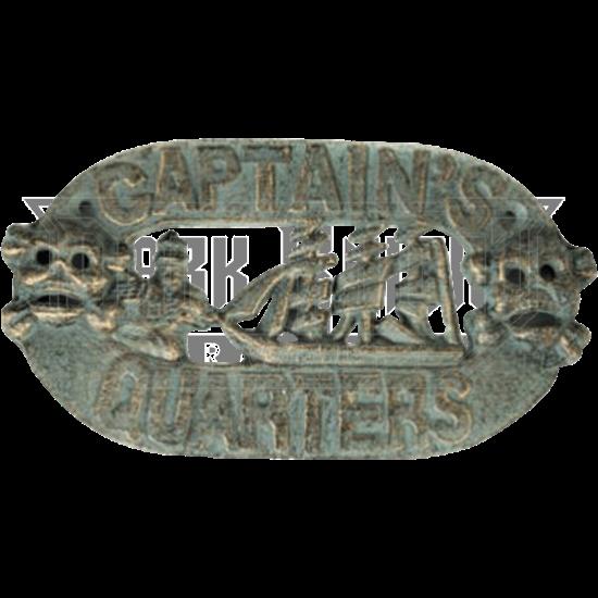 Captains Quarters Sign