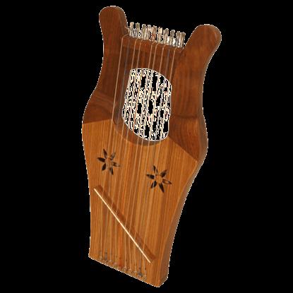 Miniature Kinnor Harp with Case