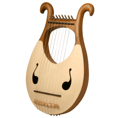 Lyre Harp with 8 Strings