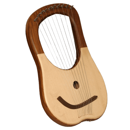 Lyre Harp with 10 Strings