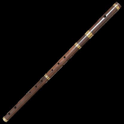 Rosewood Irish Flute