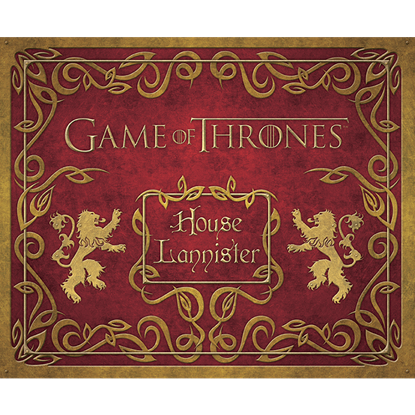 Game of Thrones House Lannister Deluxe Stationery Set