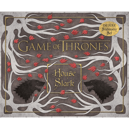 Game of Thrones House Stark Deluxe Stationery Set