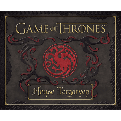 Game of Thrones House Targaryen Deluxe Stationery Set