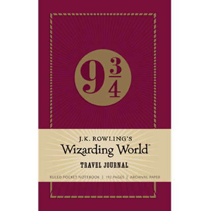 Fantastic Beasts Wizarding World Travel Journal