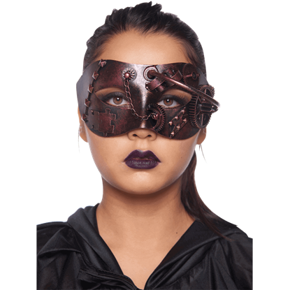 Bronze Steampunk Masquerade Mask